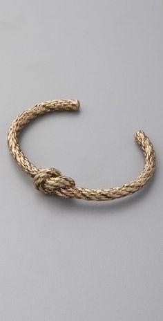 Nautical Knot Bracelet - Lyst