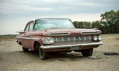 1959 Chevrolet Bel Air two door Photo by: Jay Ramey