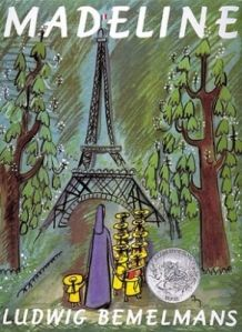 Madeline  For Ages 4-7    Nothing frightens Madeline, the little Parisian schoolgirl. Not tigers, not mice, not even getting sick. To Madeline, even a trip to the hospital is a grand adventure. #WeGiveBooks