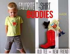 Favorite T-shirt Buddy Toys | MADE
