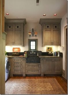 Traditional Laundry Room Mud Room Design, Pictures, Remodel, Decor and Ideas - page 37 Laundry Room Design, Kitchen Design, Laundry Rooms, Mud Rooms, Kitchen Ideas, Space Kitchen, Looks Country, Country Style, French Country