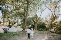 Bride & Groom Glamping Wedding | Winters, CA Wedding