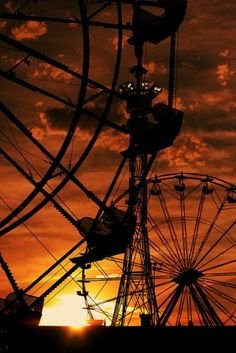 An obsession since I was five...fairs with ferris wheels...maybe I was a Carny in a former life!!!!