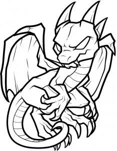 Here Be DRAGONS On Pinterest Chibi Baby Dragon And