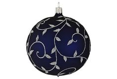 One Kings Lane - Our Favorite Ornaments - Vine Ball Ornament  - I love vines and sparkles.