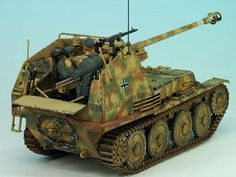 M, Tamiya von Matthias Andrezejewsky Mg34, Trump Models, Panzer Iv, Tank Destroyer, Model Tanks, Military Modelling, Battle Tank, Military Diorama, Armored Vehicles