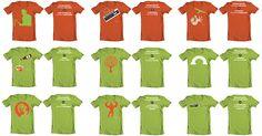 artwork - shirt design in thema van een presentatie / beurs Artwork, Infographic, T Shirt, Supreme T Shirt, Work Of Art, Infographics, Tee Shirt, Auguste Rodin Artwork, Artworks