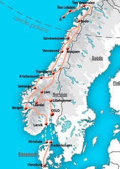 If You Want To See The Best Of The Fjords The Mountains And The - Norway map mountains