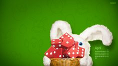 Dice in a basket, what a great idea for Easter...with Farkle April calendar :)