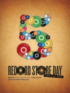 Records Store Day 2012.  #music #records