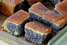 Mohnkuchen Recipe: The Cake That Calls on You - On The Gas Poppy Seed Filling, Poppy Seed Cake, Polish Cake Recipe, Poland Food, Cake Fillings, Streusel Topping, Baking Ingredients, Hot Dog Buns, Amazing Cakes