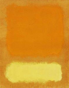 // Mark Rothko. Untitled, 1968.