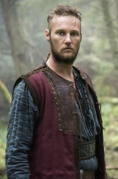 Jordan Patrick Smith, from Scotland as Ubbe | Son of Ragnar and Aslaug | a mid-ninth-century Viking Chieftain and one of the commanders of the Great Army, a coalition of Norse warriors that in AD 865 invaded the Anglo-Saxon kingdoms.