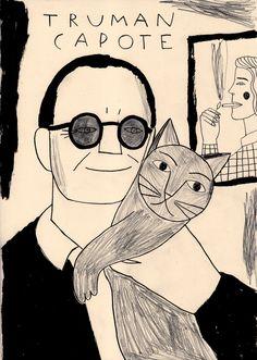 Truman Capote http://inmalorente.tumblr.com/post/95373115034