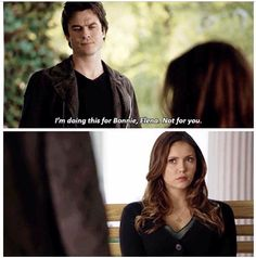 "Yeah Elena. Suck it.|| I love those two words ""for Bonnie"", they aren't said nearly enough by anyone and the fact that it is Damon who says them...Bamon, y'all!"
