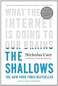 The Shallows: What the Internet Is Doing to Our Brains by Nicholas Carr, http://www.amazon.com/dp/B003R7L90I/ref=cm_sw_r_pi_dp_peSrqb1BHVC9A