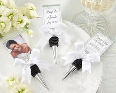 Capture the Moment Glass Photo Holder Bottle Stopper Corks Wine Stoppers Place Card Holders Winery Bling Wedding Gifts Bridal Shower Favors