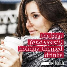 Don't let seasonal sips do major damage to your waistline! Read on to find out which are OK to indulge in: http://www.womenshealthmag.com/weight-loss/holiday-drinks?cm_mmc=Pinterest-_-womenshealth-_-content-food-_-bestandworstholidaydrinks