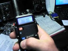 Baofeng UV-5R Review and Operation  By AB5N - www.7000mic.com  I'm the guy who does the IC-7000 mic upgrades.