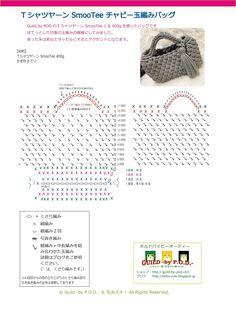Guild by POD 【無料編み図】TシャツヤーンSmooTeeチャビー玉編みバッグの編み方