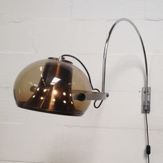 Located using retrostart.com > Wall Lamp by Unknown Designer for Dijkstra Lampen
