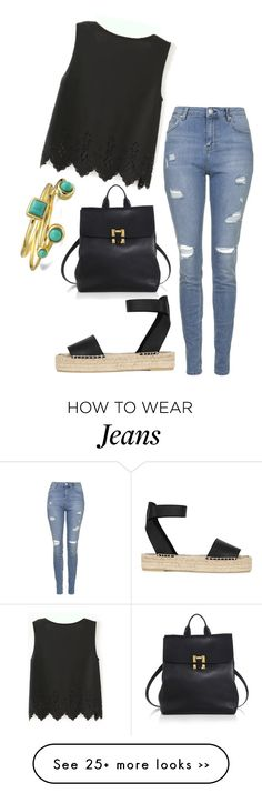 """Trending now: Ripped Skinny Jeans"" by fashionbloggerwannabe on Polyvore"
