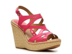 b.o.c Brygida Wedge Sandal- I love this brand, comfy, durable and simple. They last more than one season unlike most wedges which makes their price of 59.95 easier to justify!