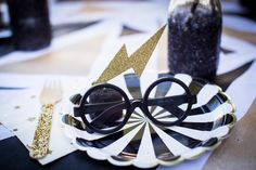 the COOP / Harry Potter party place setting