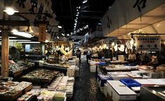 Tsukiji Market, Fish Market, Tokyo