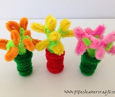 Pipe Cleaner Dollhouse Items, Pipe Cleaner Crafts