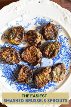 Are you searching for the best brussels sprouts recipe ever?! Well you're looking at it! These are the crispiest brussels sprouts that you will ever have! This recipe uses smushable steamed brussels sprouts to get them nice and flat, and then they are either baked or air fryed! Air fryer brussels sprouts recipes don't have to be hard, and this recipe is super easy you guys! They make such a delicious crispy vegan snack idea! Frozen Corn Recipes, Frozen Vegetable Recipes, Frozen Drink Recipes, Frozen Meals, Healthy Sweet Snacks, Vegetarian Appetizers, Vegan Snacks, Savory Snacks, Vegetarian Recipes