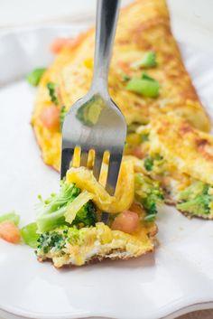 Perfect Vegetable Farm Omelette