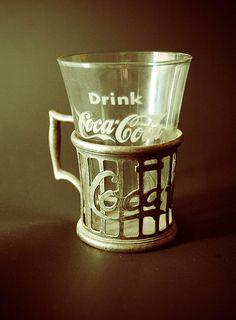 Old Fashioned Coca Cola fountain drink