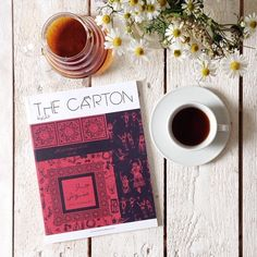 Good morning thursday! While it is raining cats and dogs, you should enjoy a good cup of coffee with the latest edition by The Carton. A quarterly publication about food, culture and the Middle East. Now in our online shop! And soon available at Gudberg, currated by Coffee Table Mags. #thecarton #coffeetablemags