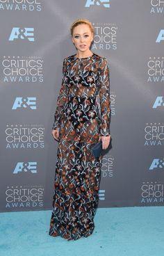Critics Choice Awards 2016 - Portia Doubleday in Novis.