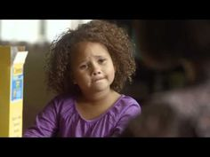 Adorable spot from Cheerios that caused a little controversy among narrow minded folks due to the family being from different ethnic groups (huh?/really?)