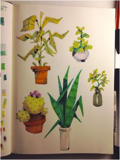 "dommifox: "" Marker doodles from a while back 🌵 "" Illustrations, Illustration Art, Cartoon Background, Gesture Drawing, Prop Design, Fox Art, Visual Development, Art Sketchbook, Artist Art"