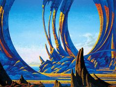 Roger Dean - Union (Yes album cover)
