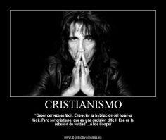 Cristianismo Alice Cooper