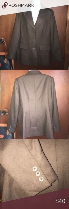 J.G. HOOKS Blazer Brown wool blazer in excellent condition. You can wear to work or an interview. J.G. Hooks Jackets & Coats Blazers