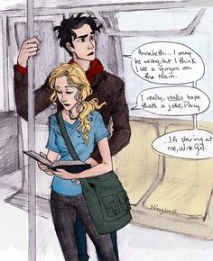I just realized Percy's hand is on Annabeth's stomach. Now I'm gonna look at this like she's pregnant.