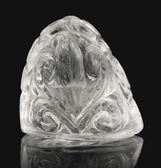 A Fatimid rock crystal chess piece Egypt, 11th century Estimate: £80,000-120,000. Photo: Sotheby's.