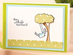 The Sky's the Limit Card by @Katie Stilwater