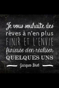 Les bonnes résolutions - Jacques Brel