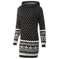 adidas Frauen Langärmeliges Kleid mit Kapuze | adidas Deutschland