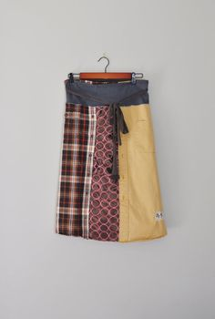 Reserved for Rachel/Golden Harvest Wrap Skirt by RebirthRecycling, $65.00
