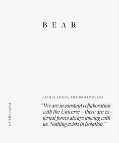 B E A R (@bear.ltd) • Instagram photos and videos Daily Motivation, Carpe Diem, Affirmations, Life Quotes, Universe, Thoughts, Math Equations, Words, Bear