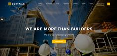 Here are some of the best construction company WordPress themes 2017 for building, contractor, architect or business related websites. Modern Architecture Design, Construction Business, New Shop, Wordpress Theme, House Plans, How To Plan, Building, Buildings, House Floor Plans
