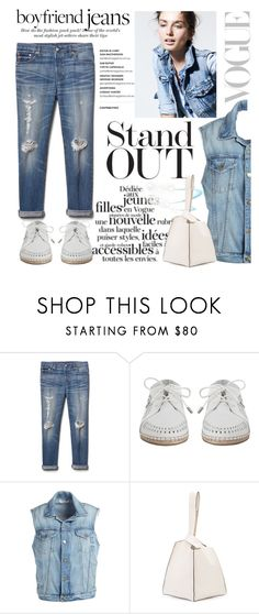 """""""Stand Out in Boyfriend Jeans"""" by conch-lady ❤ liked on Polyvore featuring J.Crew, Gap, Zimmermann, Frame, Maiyet, boyfriendjeans, polyore and standoutinboyfriendjeans"""