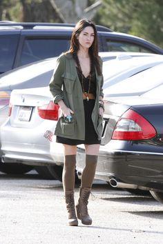 Megan Fox. Street style